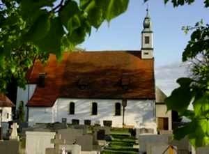 Die Pfarrkirche in Oberkreuzberg