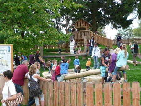 Spielplatz Pirateninsel in St. Peter im Schwarzwald