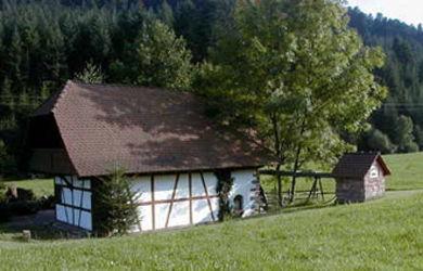 Eine aufwändig renovierte Mühle in Steinach aus dem Jahr 1835
