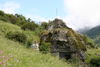 Von aussen kaum erkennbar: die Kapelle Fuxstein bei Täsch, gut 4 km von Zermatt entfernt.