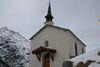 La chapelle de Täschberg vaut également le détour pour sa vue majestueuse sur la vallée de Saint-Nicolas.