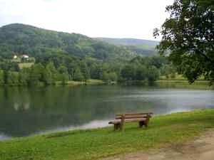 Der Ebenreuther See bei Thurmansbang