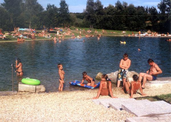 Familienvergnügen am Badesee in Raßbach bei Thyrnau