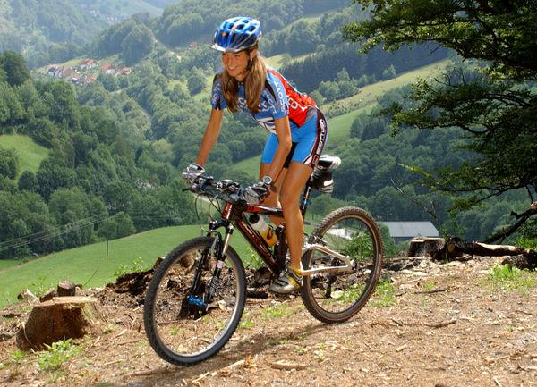 ... -Ruhestein mit Singletrails im Nationalpark Schwarzwald Mountainbike