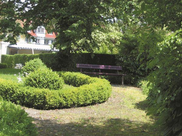Garten St. Franziskus in Überlingen am Bodensee