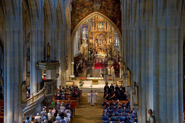 Feierlicher Gottesdienst im Münster Sankt Nikolaus