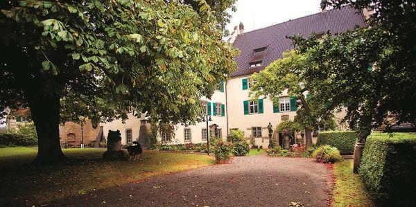 Garten des Städtischen Museums in Überlingen am Bodensee