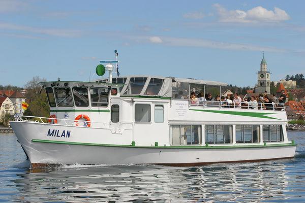 MS Milan auf dem Überlinger See
