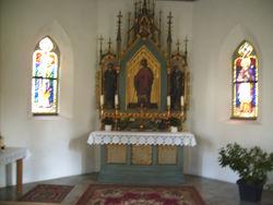 Innenraum der Gotthardkapelle