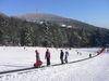 Förderband beim Steinberglift im Skigebiet Sonnenwald im Bayerischen Wald
