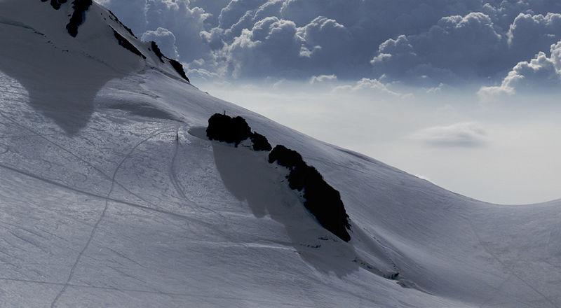 Das Balmenhorn wird meist mit anderen Gipfeln des Monte-Rosa-Massivs angegangen.
