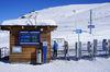 La piste de luge du Gornergrat débute ici. Au programme également: randonnées hivernales sous le soleil scintillant.