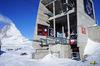 Depuis Trockener Steg, le télécabine conduit au Petit Cervin, à la station de montagne la plus haute d'Europe (3'883 m).