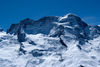 The Breithorn is more than two kilometres in breadth.