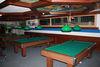 Country Bar, Zermatt: das gute Licht für die guten Pool Billard-Spiele.