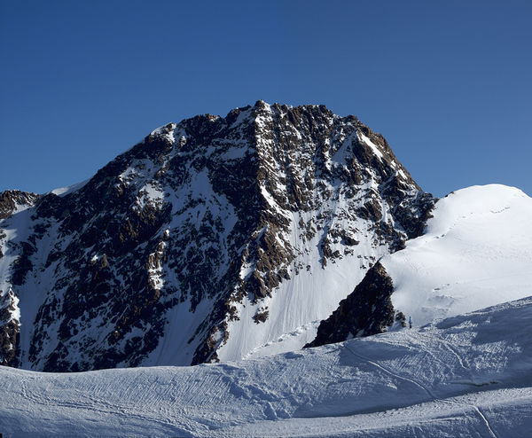 The Grenzgipfel is one of about ten peaks above 4,000 m in the Monte Rosa massif.