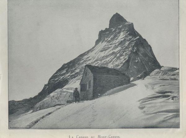 Die früheren Berghütten waren hauptsächlich Schutzhütten und boten keinen Komfort.
