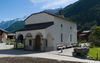 Winkelmatten chapel in Zermatt is highly popular for weddings and christenings.