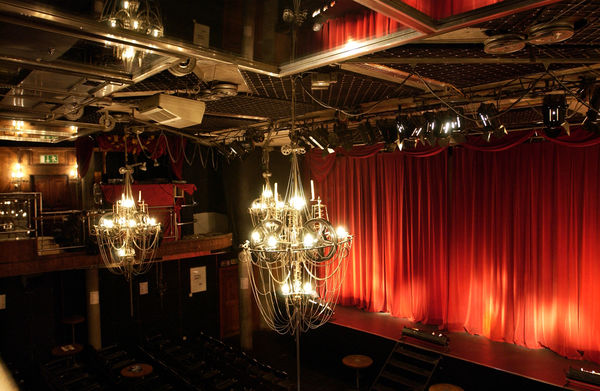 Zermatt's Vernissage is a cinema, concert venue and club, all in one. Before films, the giant chandeliers are pulled to one side to reveal a clear view of the screen.