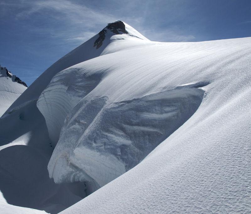 Die Parrotspitze – eine markante Erhebung im Monte-Rosa-Massiv.