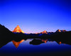 Zermatt's Riffelsee with the Matterhorn in the evening light: an irresistible subject for photography enthusiasts.