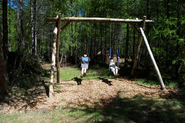 These swings are also highly popular with older children.