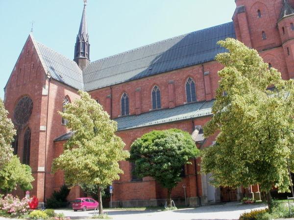 Blick auf die Stadtpfarrkirche Zwiesel im ArberLand Bayerischer Wald