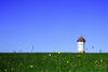 Markantes Wahrzeichen: Der Wasserturm östlich von Abtsgmünd-Hohenstadt
