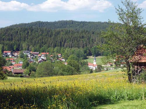 Das Feriengebiet Achslach-Lindenau ist umgeben von hohen Bergen und somit ein idealer Ausgangspunkt für ausgiebige Wanderungen