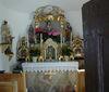 Altar in der Kapelle in Lindenau bei Achslach
