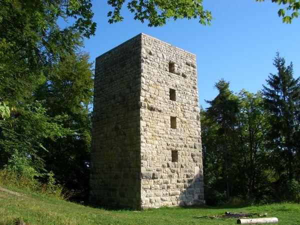 Aussichtsturm auf dem Gelände der ehemaligen Schalksburg