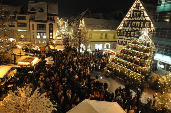 Weihnachtsmarkt in Albstadt-Ebingen