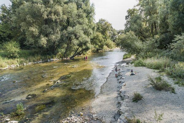 Amperufer - Ampertal zwischen Allershausen und Moosburg