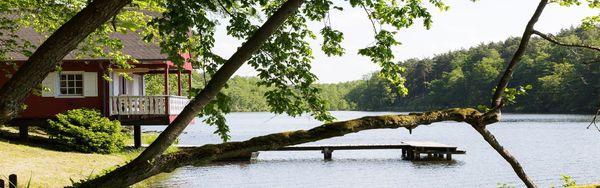 Seehütte am Madlitzer See, Foto: Thomas Abé