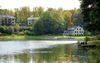 Gut Klostermühle Blick vom See, Foto: Kirsten Breustedt
