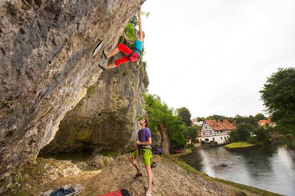 Klettern in Velden