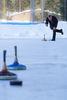 Übung macht den Meister - auch beim Eisstockschiessen