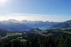 Wanderung zum Flügenspitz; Aussicht vom Gipfel