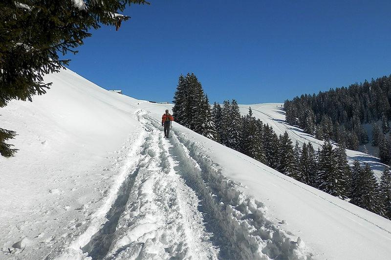 Um den Flügenspitz - Schneeschuhtour