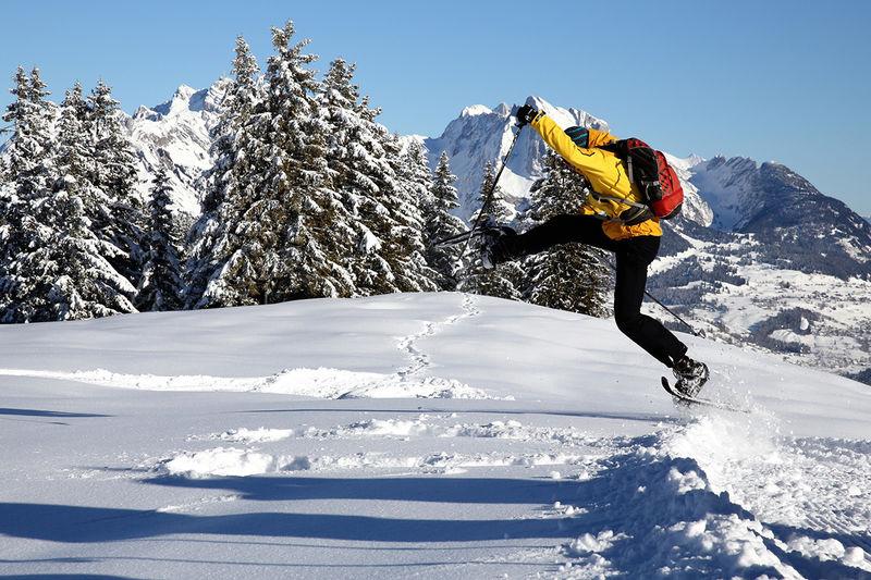 Schwarzenegg - Schneeschuhtour