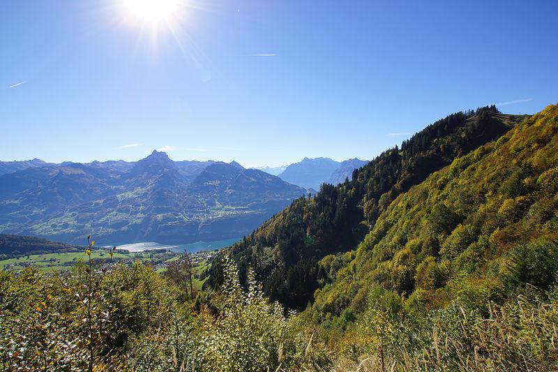 Hasenboden Höhenweg – Hoch über dem Walensee