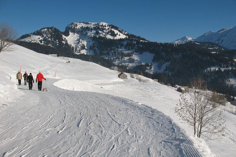 Hinter Höhi - Winterwanderung