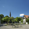 Gransauplatz mit Christuskirche in Arnsberg