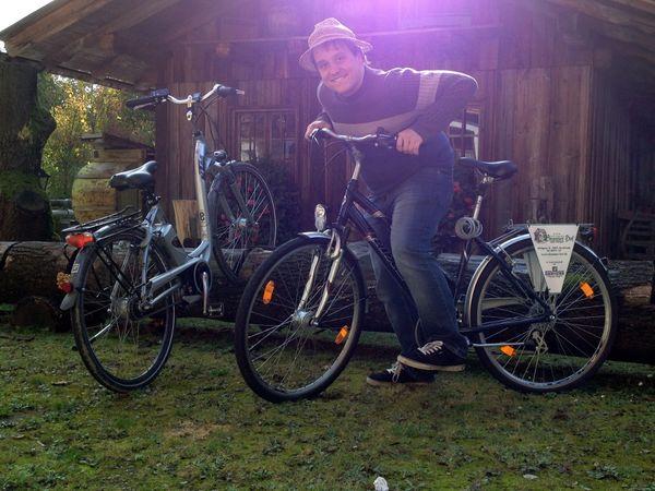 Wastl zu Besuch im Natur- und Wohlfühlhotel Brunenr Hof***S - Wastl geht auf Radltour mit einem Ebike