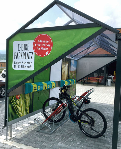 E-Bike Ladestation Arrach