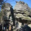 Klettergebiet Rauchröhren am Kaitersberg-Bergkamm