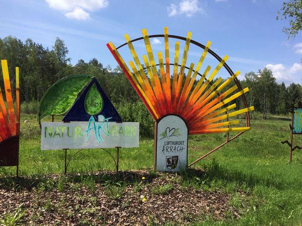 Natur-Art-Park Arrach: Arracher Moorlehrpfad