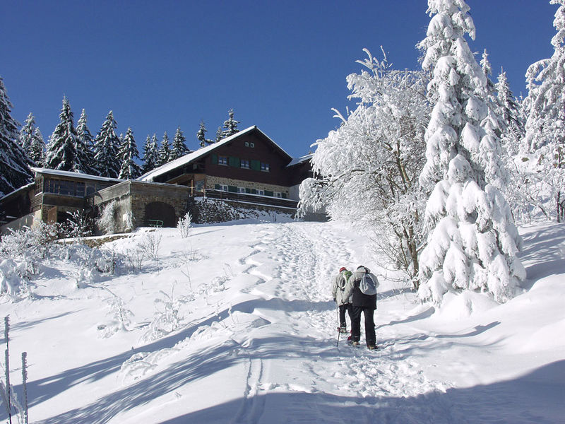 Aufstieg zur Kötztinger Hütte