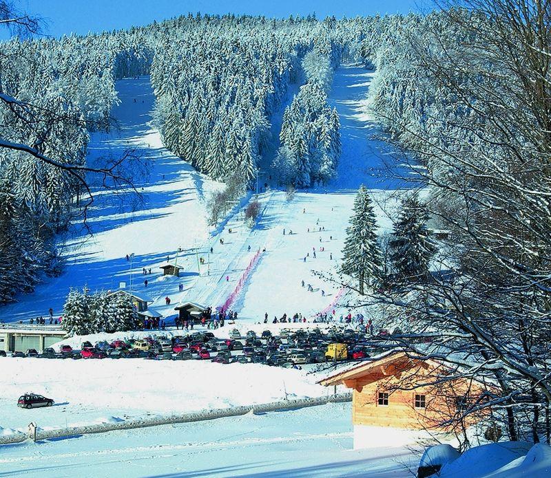 Wintertraum beim Skilift Eck-Riedelstein im Bayerischen Wald