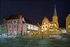 Stitskirche bei Nacht